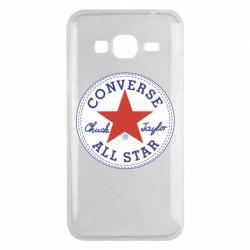 Чохол для Samsung J3 2016 Converse