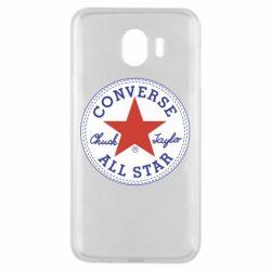 Чохол для Samsung J4 Converse