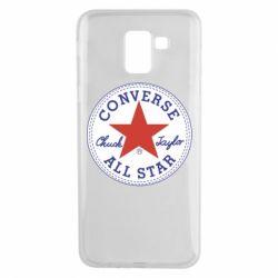 Чохол для Samsung J6 Converse