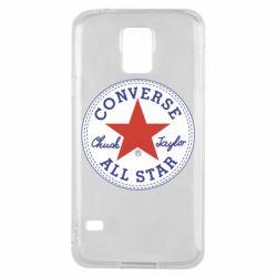 Чохол для Samsung S5 Converse