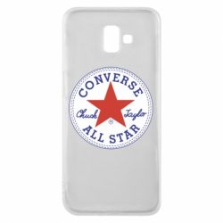 Чохол для Samsung J6 Plus 2018 Converse