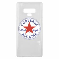 Чохол для Samsung Note 9 Converse