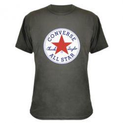 Камуфляжна футболка Converse