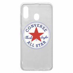 Чохол для Samsung A20 Converse