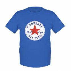Дитяча футболка Converse