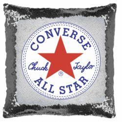Подушка-хамелеон Converse