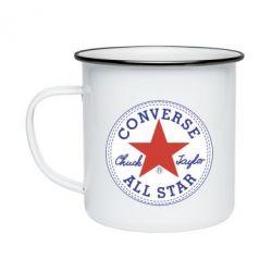 Кружка емальована Converse