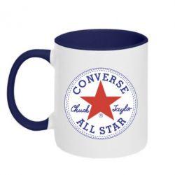 Кружка двоколірна 320ml Converse