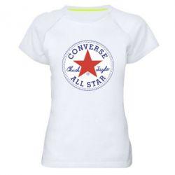 Жіноча спортивна футболка Converse