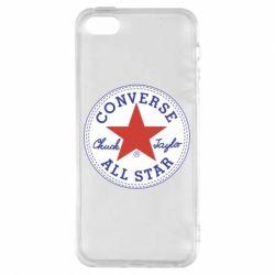 Чохол для iphone 5/5S/SE Converse