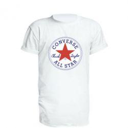 Подовжена футболка Converse