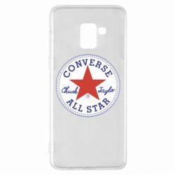 Чохол для Samsung A8+ 2018 Converse