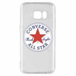 Чохол для Samsung S7 Converse
