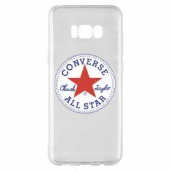 Чохол для Samsung S8+ Converse