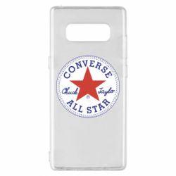 Чохол для Samsung Note 8 Converse