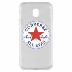 Чохол для Samsung J3 2017 Converse