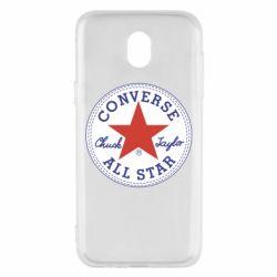 Чохол для Samsung J5 2017 Converse