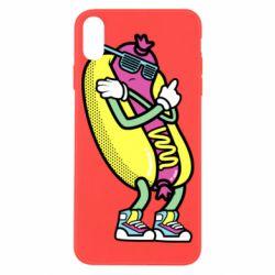 Чохол для iPhone X/Xs Cool hot dog
