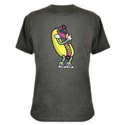Камуфляжна футболка Cool hot dog