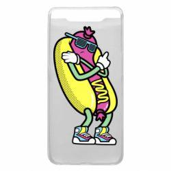 Чохол для Samsung A80 Cool hot dog