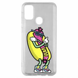 Чохол для Samsung M30s Cool hot dog