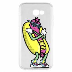 Чохол для Samsung A7 2017 Cool hot dog