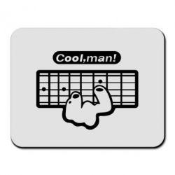 Коврик для мыши Cool man? - FatLine