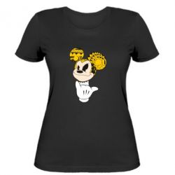 Женская футболка Cool Mickey Mouse - FatLine