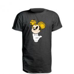 Удлиненная футболка Cool Mickey Mouse - FatLine