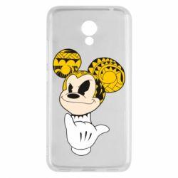 Чехол для Meizu M5c Cool Mickey Mouse - FatLine