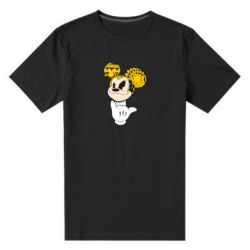 Мужская стрейчевая футболка Cool Mickey Mouse - FatLine