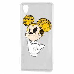 Чехол для Sony Xperia X Cool Mickey Mouse - FatLine