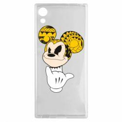 Чехол для Sony Xperia XA1 Cool Mickey Mouse - FatLine