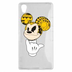 Чехол для Sony Xperia Z1 Cool Mickey Mouse - FatLine