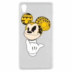 Чехол для Sony Xperia Z3 Cool Mickey Mouse - FatLine