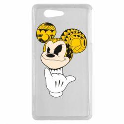 Чехол для Sony Xperia Z3 mini Cool Mickey Mouse - FatLine