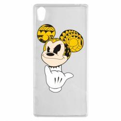 Чехол для Sony Xperia Z5 Cool Mickey Mouse - FatLine