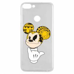 Чехол для Huawei P Smart Cool Mickey Mouse - FatLine