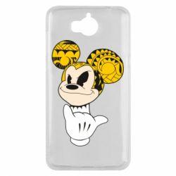 Чехол для Huawei Y5 2017 Cool Mickey Mouse - FatLine