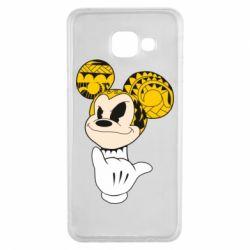 Чехол для Samsung A3 2016 Cool Mickey Mouse - FatLine