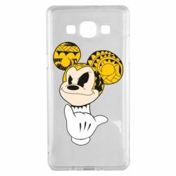 Чехол для Samsung A5 2015 Cool Mickey Mouse - FatLine