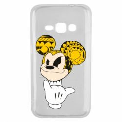 Чехол для Samsung J1 2016 Cool Mickey Mouse - FatLine