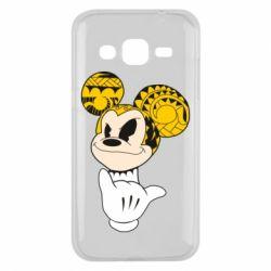 Чехол для Samsung J2 2015 Cool Mickey Mouse - FatLine