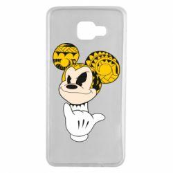 Чехол для Samsung A7 2016 Cool Mickey Mouse - FatLine