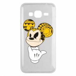 Чехол для Samsung J3 2016 Cool Mickey Mouse - FatLine