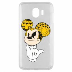 Чехол для Samsung J4 Cool Mickey Mouse - FatLine