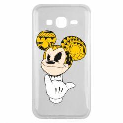 Чехол для Samsung J5 2015 Cool Mickey Mouse - FatLine