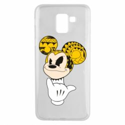 Чехол для Samsung J6 Cool Mickey Mouse - FatLine