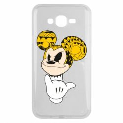 Чехол для Samsung J7 2015 Cool Mickey Mouse - FatLine