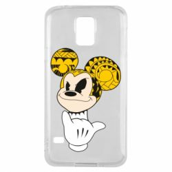Чехол для Samsung S5 Cool Mickey Mouse - FatLine
